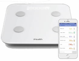 IHEALTH CORE WIRELESS BODY COMPOSITION SCALE HS6