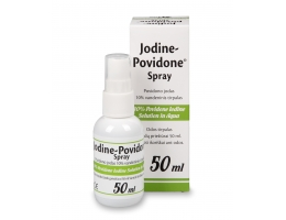 Jodine-Povidone Spray 50 ml, antiseptic, disinfect the skin