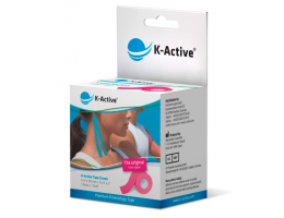 Kinesiology Adhesive Tape K-Active Classic 5 cm x 5 m (pink)