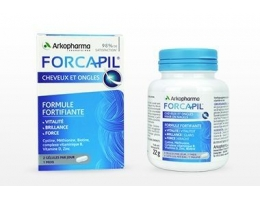 FORCAPIL, effective nutritional supplement for hair, nails and skin N60