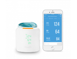 Wireless Blood Pressure Wrist Monitor