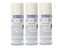3 vnt. Chloraethyl Dr.Henning 175ml spray